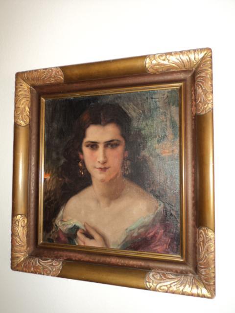 starý obraz portrét
